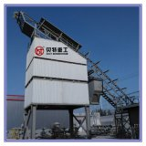 De Hete Mengeling van hoge Prestaties 160 T/H het Mengen zich van het Asfalt Installatie met de Bak van de Opslag van de Vorm van de Container
