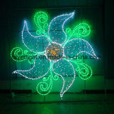 Feux à LED personnalisé fleur Outdoor de grands feux de décoration