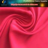 ткань пряжи простирания сатина полиэфира 50d Textured для одежды женщин (R0156)