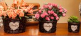 (BC-WF1023) 순수한 Handmade 자연적인 버드나무 꽃 바구니