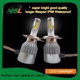 C6 Projecteur à LED pour voiture phare d'éclairage automobile moto
