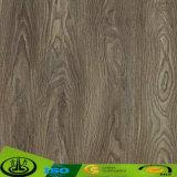 Papel da grão da madeira de carvalho da alta qualidade como o papel decorativo