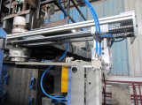 Máquina que moldea que sopla plástica automática del moldeo por insuflación de aire comprimido de la protuberancia de la botella de HDPE/PP