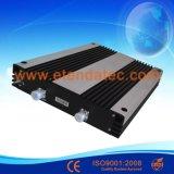 répéteur triple de signal de bande de 27dBm 80dB Egsm/Dcs/WCDMA