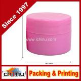 starkes starkes doppel-wandiges Plastikbehälter-Glas des Rosa-7ml (0.25oz)