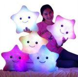 Presente dos Namorados LED Light Star Shap Push Pillow