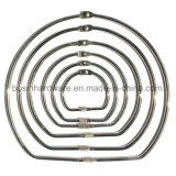 D-образный ключ блокировки Металлические кольца для скрепления клеем
