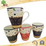 Tazza di caffè di ceramica della decalcomania di nuovo disegno di Yuanmei