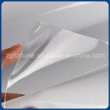 La base de agua transparente brillante de vinilo autoadhesivo