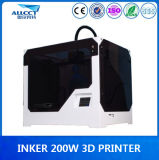Factory 0.1mm Precision 200X200X300mm Building 3D Printer in Office
