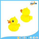 Support mignon de téléphone mobile de surgeon de silicones de forme de canard de jaune de dessin animé