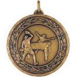 印刷されたステッカーが付いているカスタマイズされた昇進の金属の吊り下げ式の卓球メダル