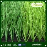 Césped sintetizado para el campo de fútbol, césped artificial de la hierba artificial barata del mini campo de fútbol