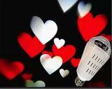 Репроектора лазерного луча рождества светлого репроектора снежинок IP65 свет сада лазера белого СИД напольный