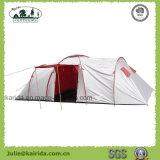 Grosse Familien-kampierendes Zelt mit Schlafzimmer und Wohnzimmer
