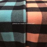 Tela doble de las lanas de la verificación de los colores para el sobretodo