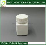 HDPE 50ml Quadrat-Pille-Plastikflasche