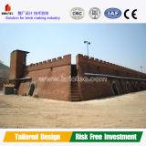 Faible capacité de l'argile Brick Plant Hoffman four