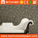 Papier peint de qualité supérieur de fournisseur de la Chine pour la salle de séjour