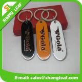 금속 Keychain는 Stainess 강철에 의하여 인쇄된 로고를 사슬로 맨다