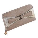 Raccoglitore di cuoio progettato piacevole dell'unità di elaborazione/buona qualità e signora calda Zipper Wallet di vendita