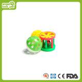 Bolas de gato de pelúcia Bolas de plástico Brinquedos de gato