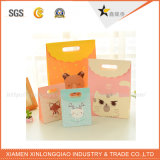 Promoción de la bolsa de papel de reciclaje de encargo de impresión de fábrica