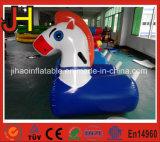 Il cavallo gonfiabile del cavallino di vendita calda mette in mostra il gioco per la corsa