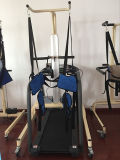 Sistema eléctrico de Unweight del amaestrador del paso para el entrenamiento del paso con la rueda de ardilla lenta