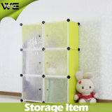 Montage Almirah freie preiswerte Speicher-Schlafzimmer-Plastikgarderobe