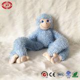 귀여운 앉는 원숭이 포옹 바나나 연약한 채워진 아기 견면 벨벳 장난감