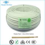 UL3068 18 AWG 26 30 AWG fibra de vidro trançado fio de silicone