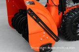 """420cc 30 """"チェーン駆動機構の手押し式雪かき機"""