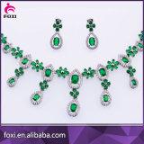 Комплект ювелирных изделий белого золота Дубай поставщика фабрики Китая арабский Wedding