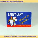 Plastic Card de code à barres avec des couleurs complètes Impression pour membre du Club