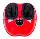 Rouleau-masseur de malaxage électrique rouge de pied de roulement de Shiatsu avec à télécommande