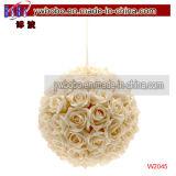 Regalo de Navidad de las flores artificiales para la boda decoración del hogar (W2043)
