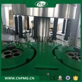 Cadena de producción del agua máquina de etiquetado adhesiva rotatoria para la botella de vino
