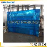 La porte de l'intérieur des solutions de Parking hydraulique de levage du véhicule à deux postes de stationnement
