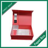 Venda por atacado personalizada da caixa de papel do cartão das extensões do cabelo