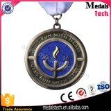 Le médaillon fait sur commande en gros attribue la médaille rotative de chemin