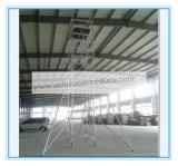 Ce SGS approuvé d'Échafaudage mobile en aluminium pour la décoration