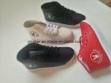 Глубокие ботинки женщин PU Openning Comfortabel материальные вскользь
