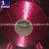 La droga de los hilados de polyester del filamento FDY 70d/36f teñió