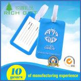 Подгонянные фабрикой мягкие бирки багажа силикона PVC/для подарков перемещения