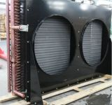 Vier Ventilatoren schwarz oder weißer Karosserien-Kondensator für abgekühlten Raum