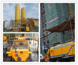 폴리 제조 수평한 300m 납품 거리 전기 정지되는 구체 펌프 (HBT30.8.45S)