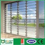 Ventilations-Aluminiumglasluftschlitz mit einzelnem Glas Pnoc004lvw