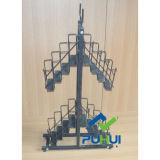 Paraguas metálico multifuncional Mostrar Rack (PHY399)