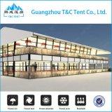 Tente mobile à double décodeur Mobile Home pour Longines China Tour